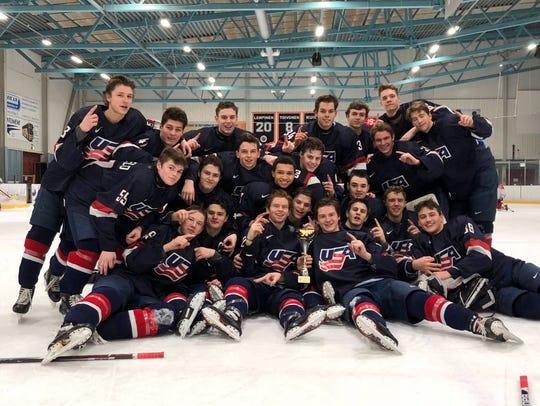 Johnny Beecher has helped the USA under-17 team win