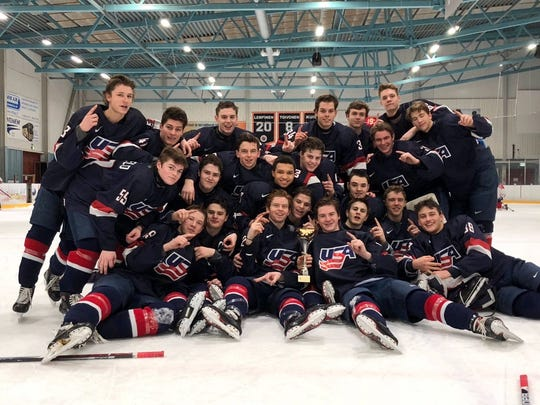 Johnny Beecher has helped the USA under-17 team win titles in Russia, Canada and Finland this season.