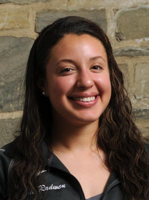 Noriana Radwan, pictured in a 2013 all-star photo taken in the Poughkeepsie Journal Building