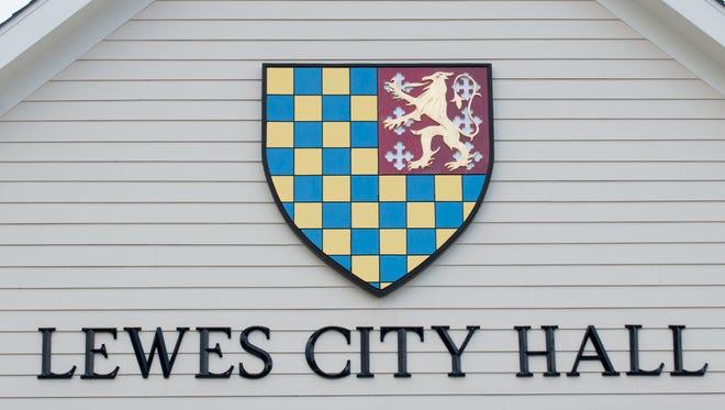 Lewes City Hall on East Third Street