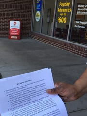 Consumers who use payday loans receive some disclosures