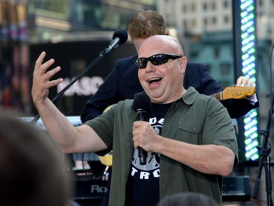 Matt Pinfield attends the MTV, VH1, CMT & LOGO 2013