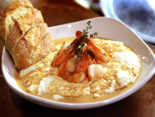 Shrimp and Grits are one of the menu items at the Paisley
