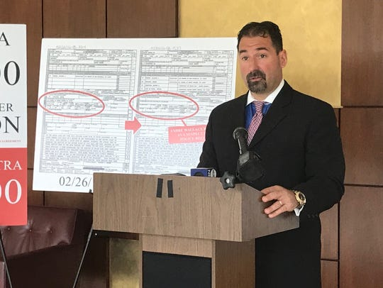 Attorney Frank Acocella speaks at new conference in