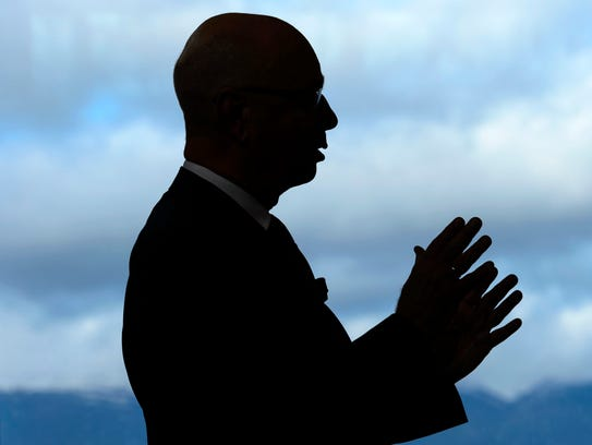 Klaus Schwab, founder and president of the World Economic