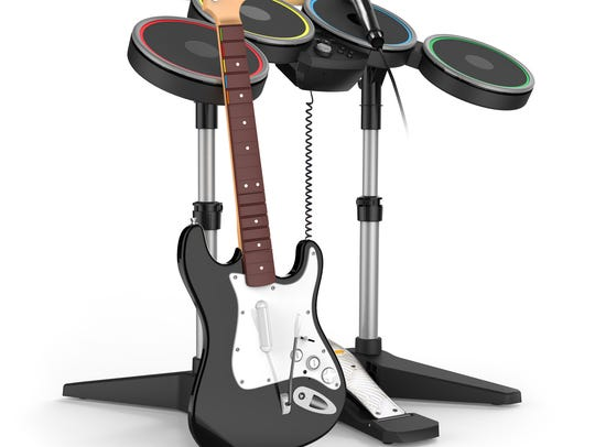This 'Rock Band' iteration, co-published by Harmonix