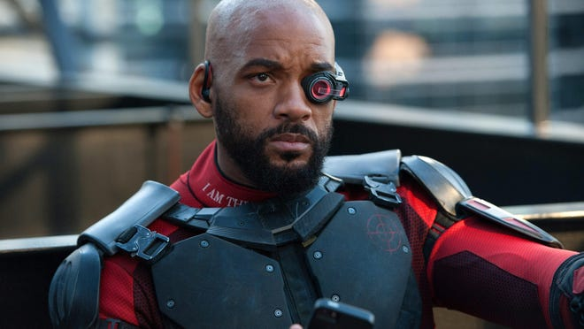 """Will Smith is Deadshot in """"Suicide Squad."""""""