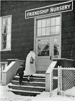 Friendship Children's Center had its start as Friendship Nursery.
