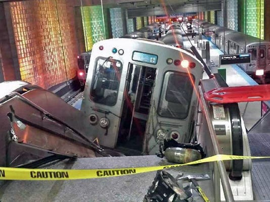 Chicago Train Derailment
