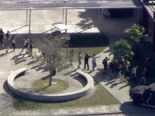 AP SCHOOL SHOOTING FLORIDA A USA FL