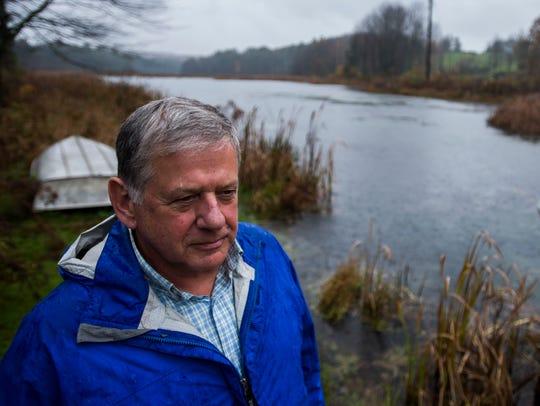 Hinesburg resident Roger Donegan, who lives on Pond