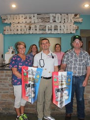 Dr. Blake Lloyd, of the North Fork Animal Clinic. is