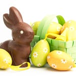 Easter candy is packed with calories, so watch how much of it you eat.