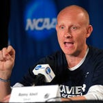 Xavier head coach Chris Mack fielded questions about Arizona and more Wednesday in advance of Thursday's 10:17 p.m. game against the Wildcats at Los Angeles' Staples Center.