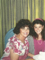 Elaine and Stacey Brill. She lost her mom to ovarian