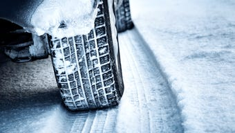 Five tips for driving in the snow and ice.