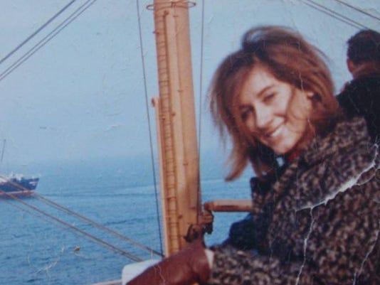 Elaine as immigrant 1963