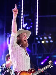 John Osborne of the Brothers Osborne performs at the