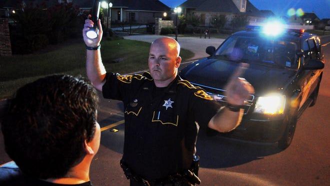 Bossier Parish Sheriff's Office DWI Enforcement Unit.