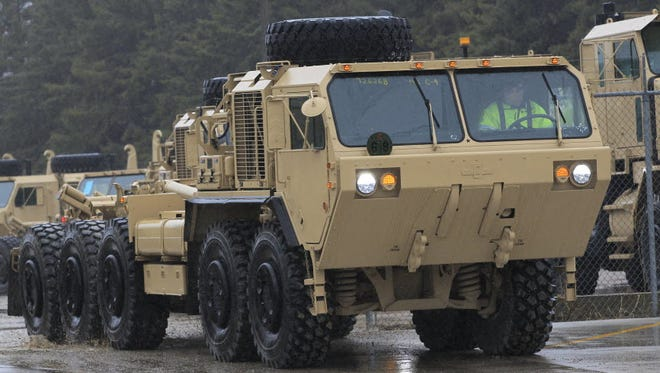 Oshkosh Corp. will refurbish existing military vehicles under a new contract.