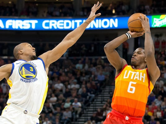 NBA  Golden State Warriors at Utah Jazz 7d066f3c0