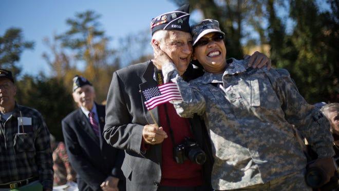 Veterans in Atlanta in 2014.
