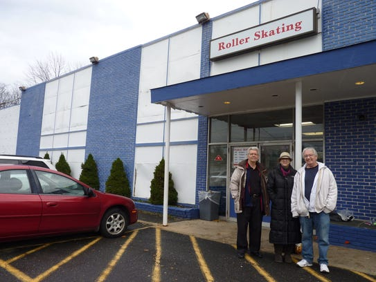 From left, Bill Davis, Sha-Ron Karr and Jim Kennedy,