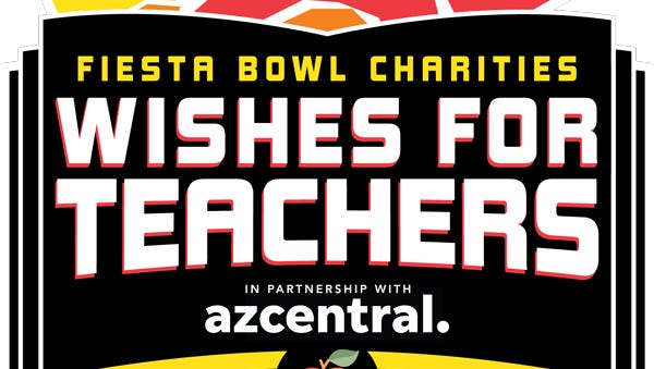 The Arizona Republic and Fiesta Bowl hope to grant teachers their wishes by giving educators $5,000. Donate to the program from Sept. 24 to Nov. 3.