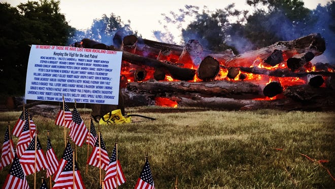 Watchfires burn for service members who didn't return from the Vietnam war.