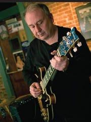 Jazz guitarist John Stricker, who has performed at
