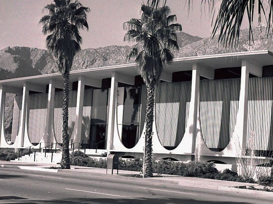 Coachella Valley Savings & Loan built in 1961.