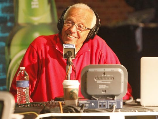 9. Marty Brennaman:  Best known for his Hall of Fame