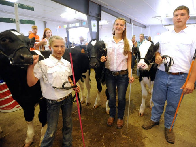 The Marion County Fair entered its third day Wednesday, July 2, 2014, with a variety of entertainment and activities.