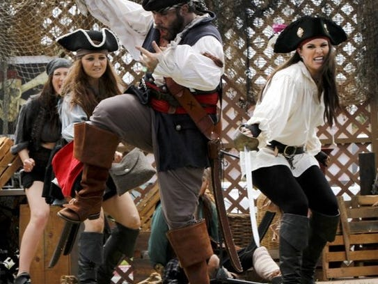 Head down to the Ventura Harbor for the Pirate Days