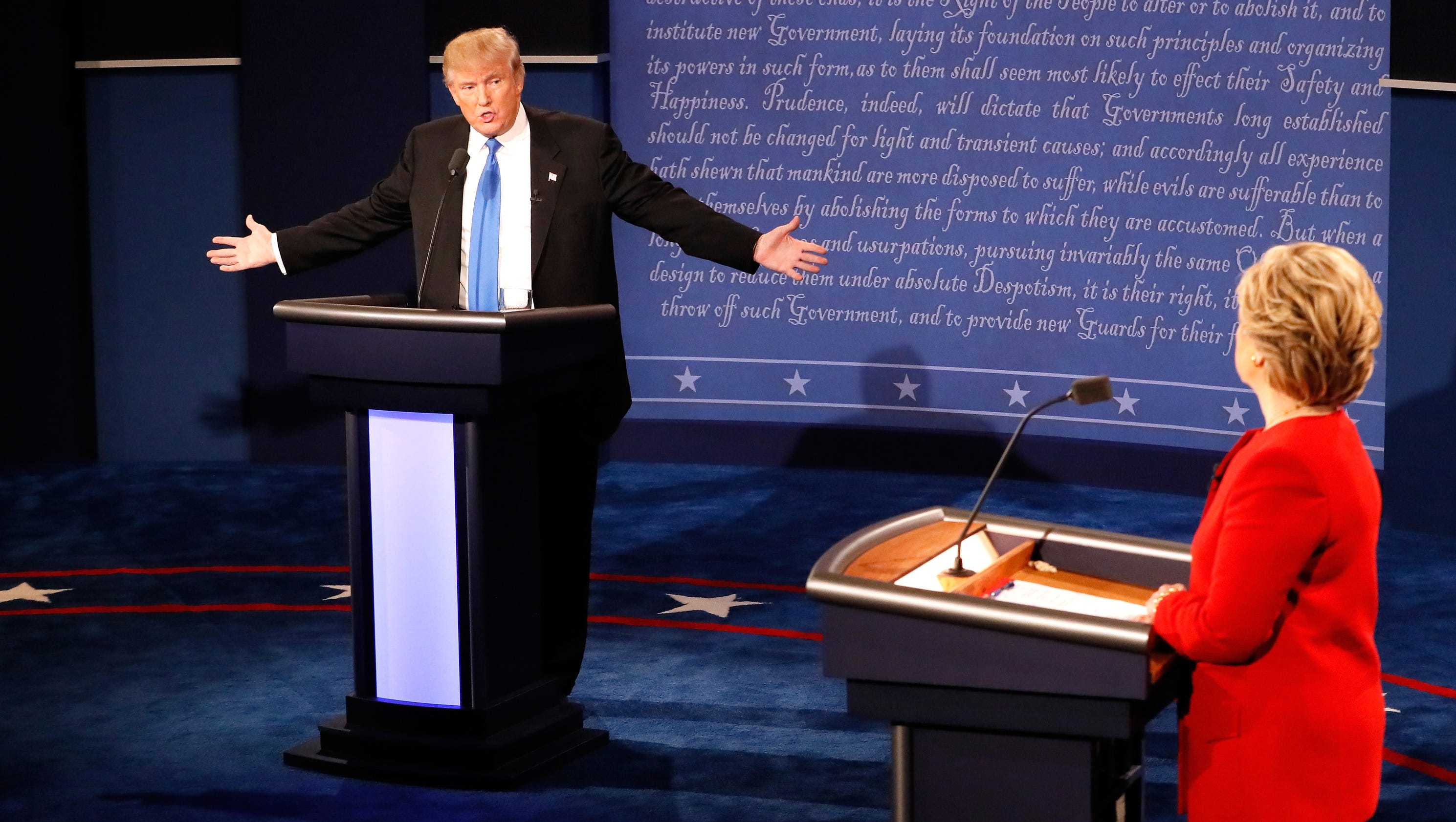 who won the debate - photo #37