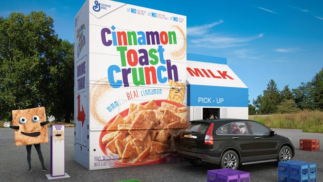 Tusayan near the Grand Canyon will host the only appearance of the Cinnamon Toast Crunch drive-thru.