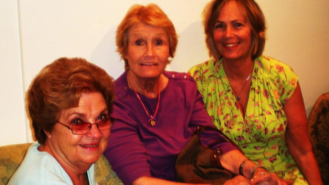 Founding members Bonnie Ligouri, Maggie Carter, Jan Doherty are still painting buddies today.