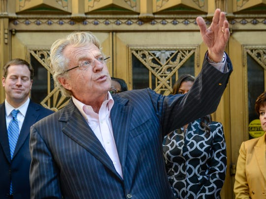 Jerry Springer, seen here in 2014, will host The Price is Right Live Feb. 24-25 at Jack Casino Cincinnati .