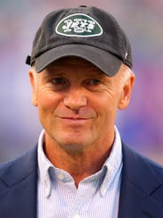 New York Jets acting owner Christopher Johnson.