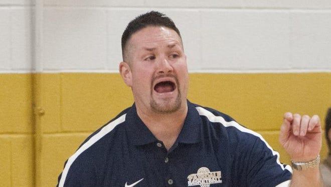 Fairdale boys basketball coach David Hicks.