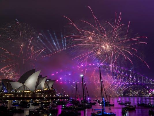 Australia New Year 2019