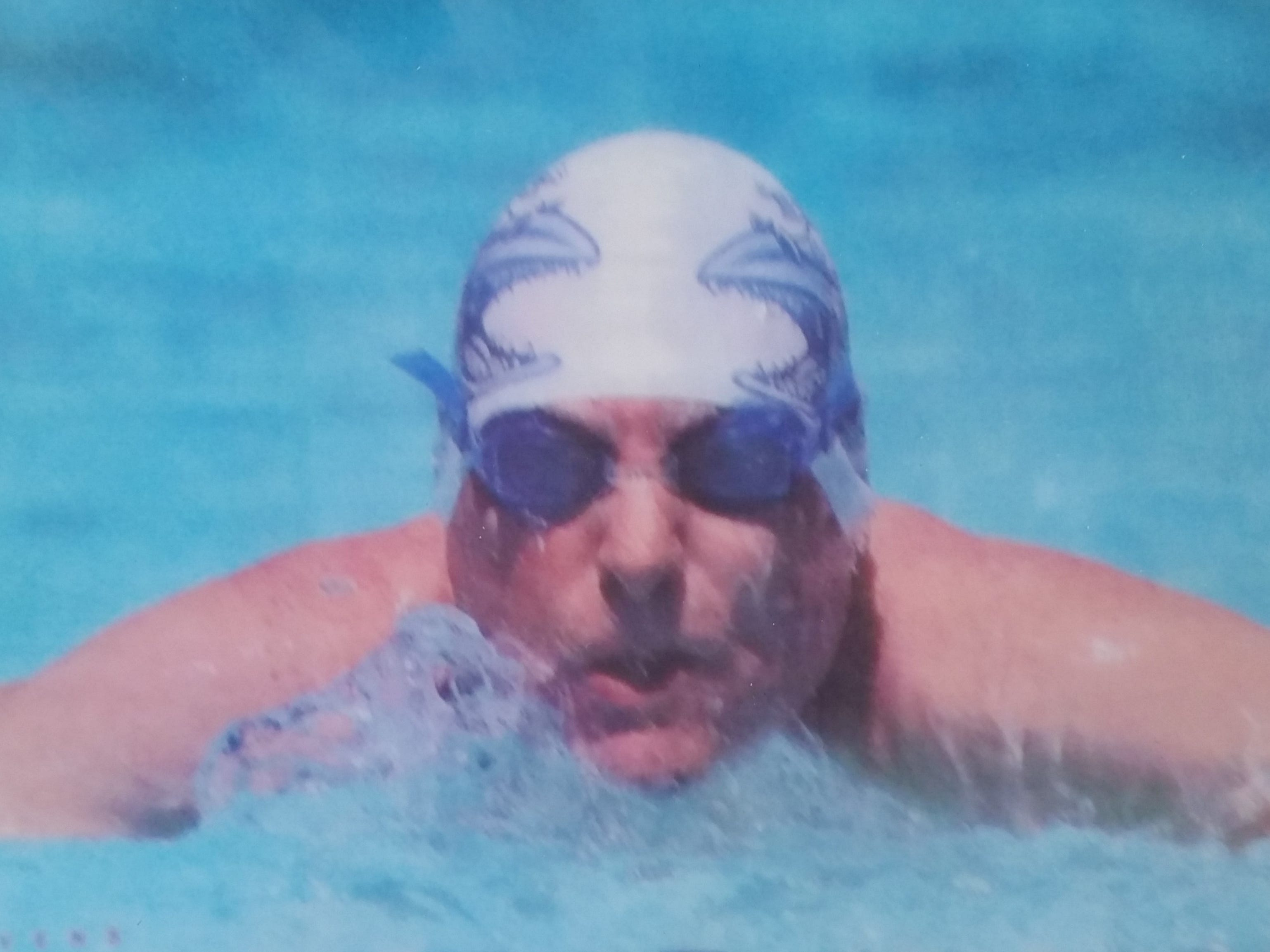 Paul Lowry brought attention to Southern Utah by coaching and writing stories. He also swam competitively, too.