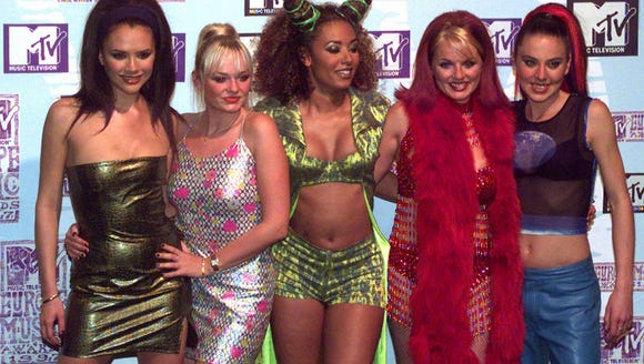 Peak Spice Girls! The ladies in 1997.