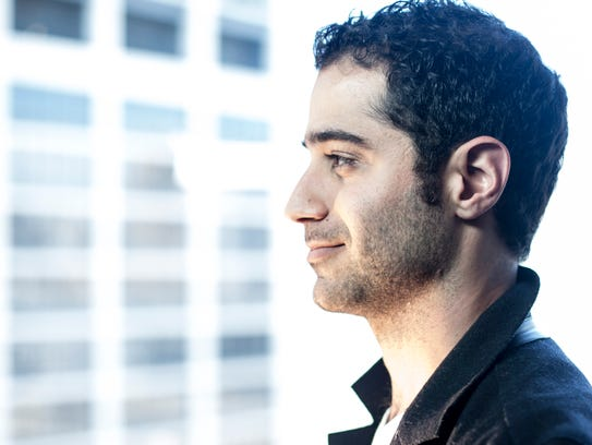 Periscope co-founder Kayvon Beykpour is photographed