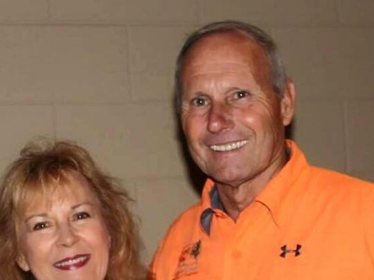 Al Broussard, right, was killed in a head-on vehicle