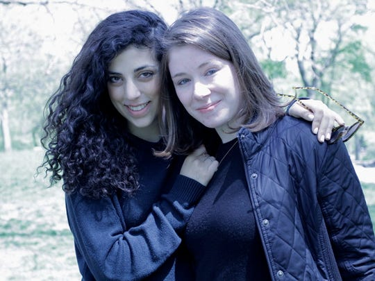 """Erica Lupinacci and Allie Cashel. Lupinacci, who suffers from Lupus, is helping her friend Cashel promote her new book, """"Suffering The Silence: Chronicaling Lyme Disease in an Age of Denial."""" Both women suffer with chronic diseases."""