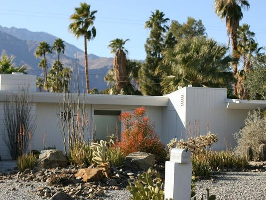 TV personality Huell Howser's Palm Springs home.