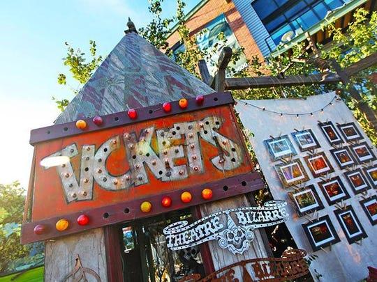 Ferndale Street Fair Theatre Bizarre