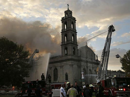 Chicago-Church-Fire