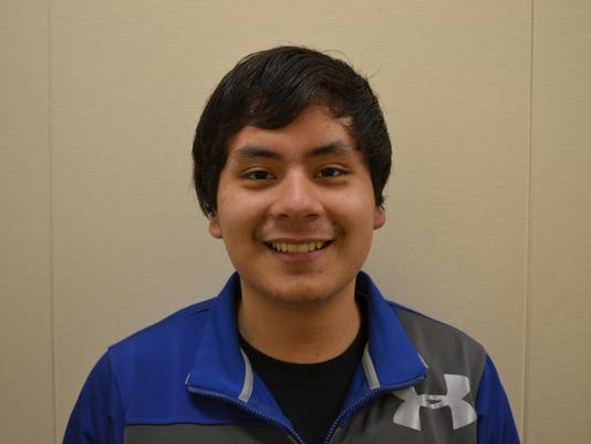Daniel Garcia-Archundia, Jr., Woodburn Academy of Art, Science, Technology Academic All-Star 2013.